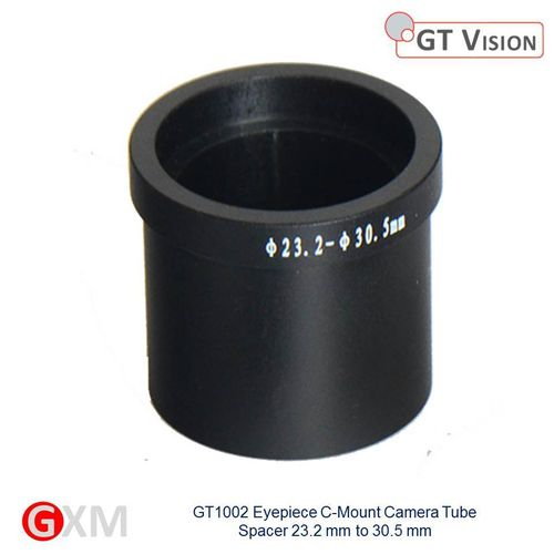 GXM Quality Microscope 30.5mm Eyepiece Tube Spacer for C-Mount Adapter