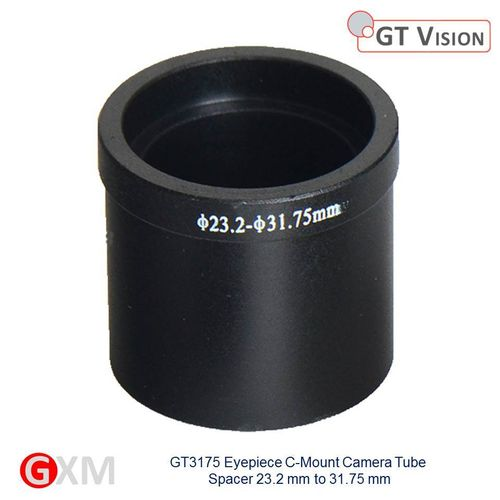GXM Quality Microscope 31.75mm Eyepiece Tube Spacer for C-Mount Adapter