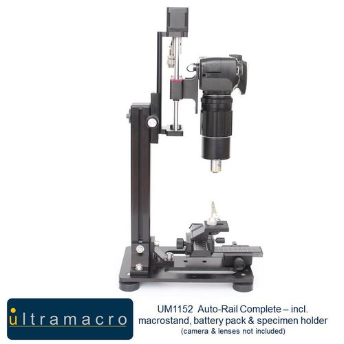 UltraMacro/WeMacro Auto-Rail Complete - incl. macrostand, power pack connection & holder UM1152