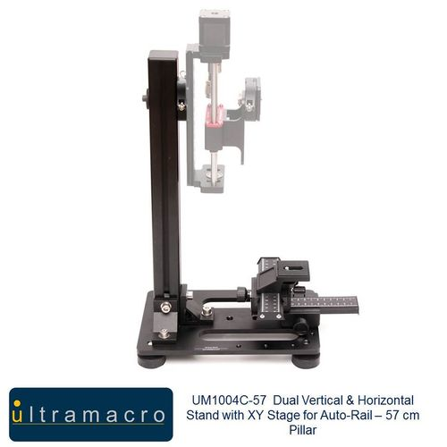 Ultramacro Dual 57 cm Vertical + Horizontal Macro Stand with XY Stage UM1004C-57