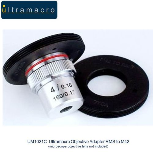 Ultramacro Quality Objective Lens Adapter RMS to M42 UM1021C