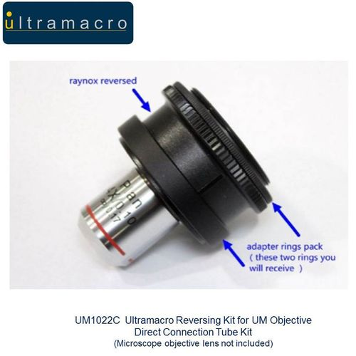 Ultramacro Quality Reversing Kit for UM Objective Direct Connection Tube Kit UM1022C