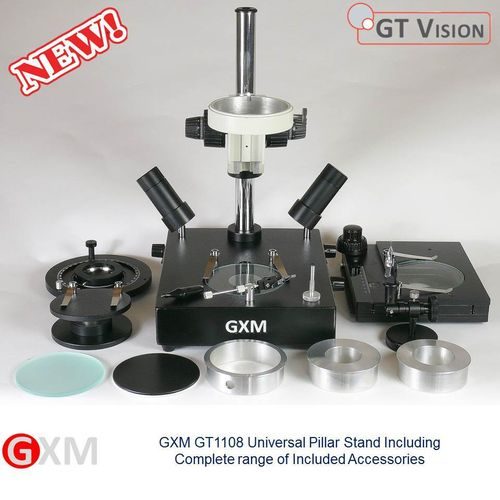GXM Universal Multi-Function Microscope Pillar Stand GT1108