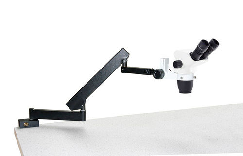 NexiusZoom binocular stereomicroscope articulated stand for table mouting no illumination