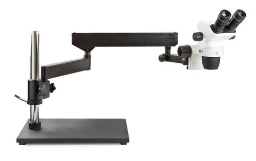 NexiusZoom binocular stereomicroscope articulated arm with tabletop stand no illumination