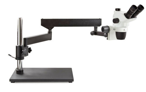 NexiusZoom trinocular stereomicroscope articulated arm with tabletop stand no illumination