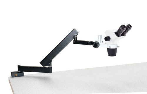 NexiusZoom EVO binocular stereomicroscope articulated stand for table mouting no illumination
