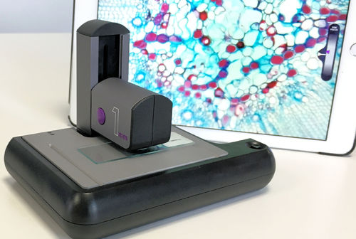 ioLight Portable Microscope with XY stage, x400 1mm field of view, 1µm high resolution