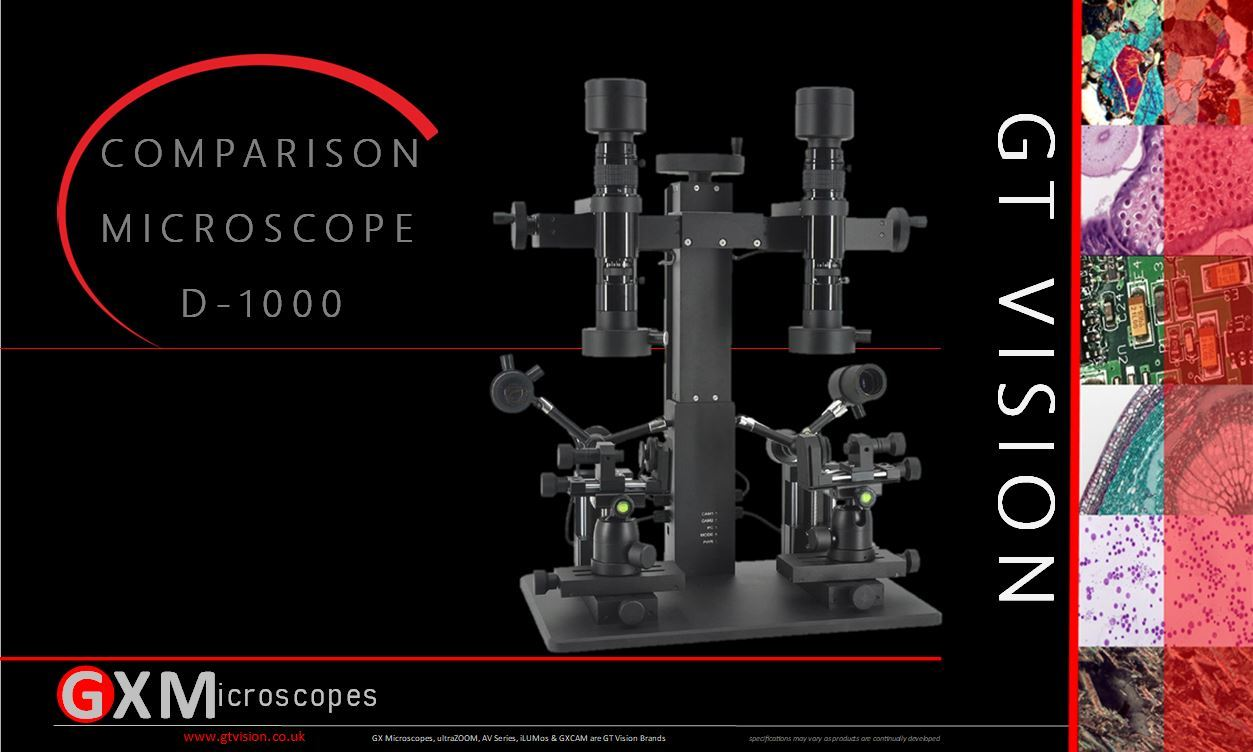 Datasheet Comparison Microscope D-1000