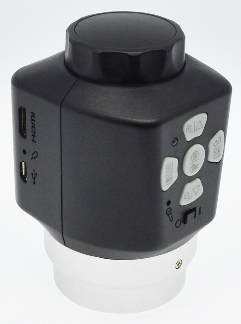 GXCAM-DM350-C_HDMI_and_USB_Microscope_Camera_back_Knob_Upright_by_GT_Vision_Ltd