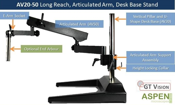 A20-50_Diagram_only_-_Long_Reach_Microscope_Stand_GX_Microscopes_by_GT_Vision_Ltd